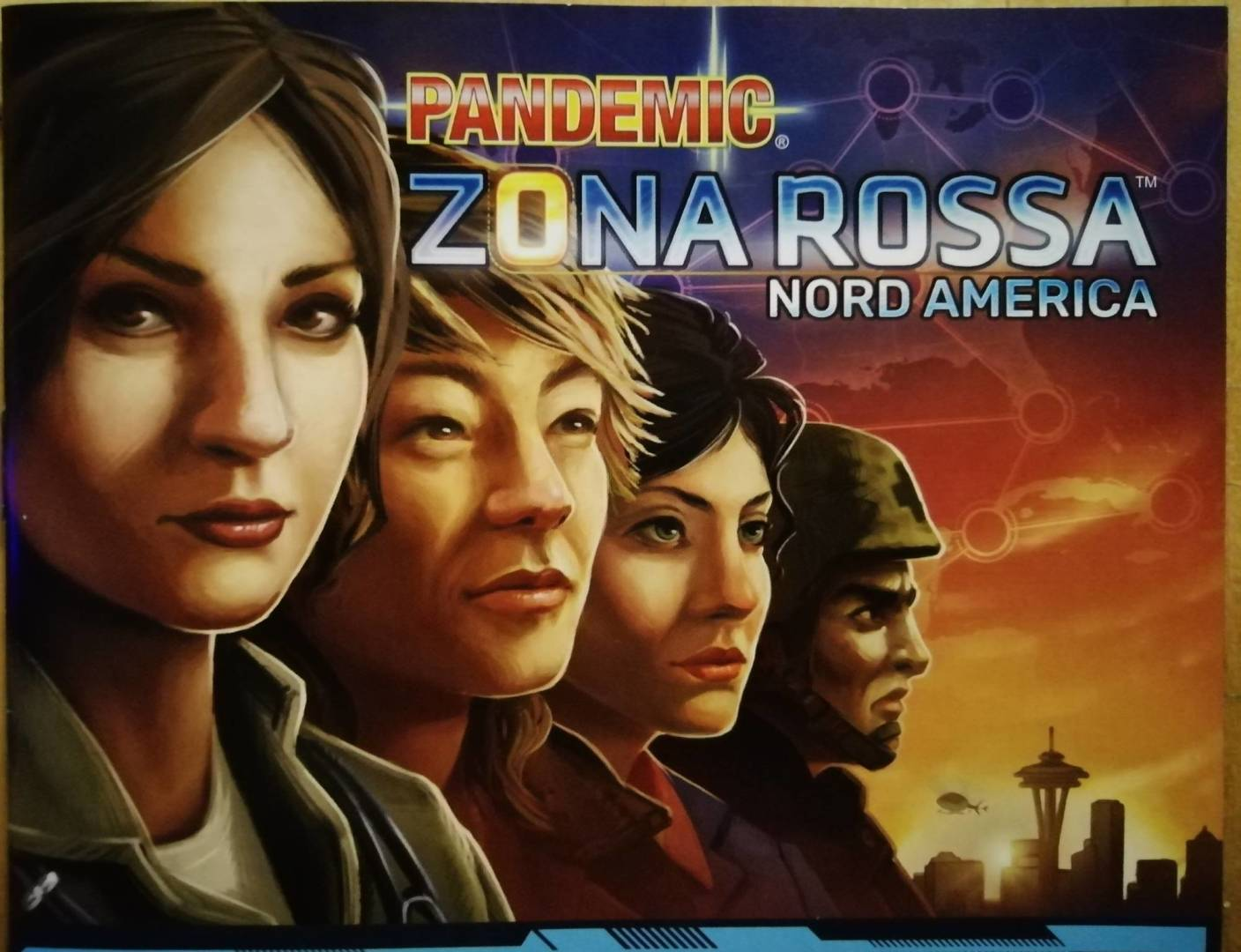 Pandemic Zona Rossa Nord America