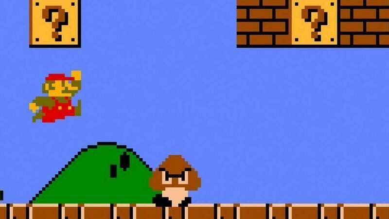 Minecraft: recreated the entire first level of Super Mario Bros