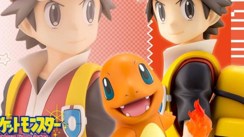 Pokémon, da Kotobukiya arriva la figure di Red e Charmander