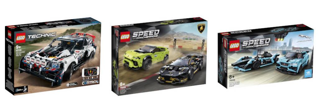 set LEGO cars offerta zavvi
