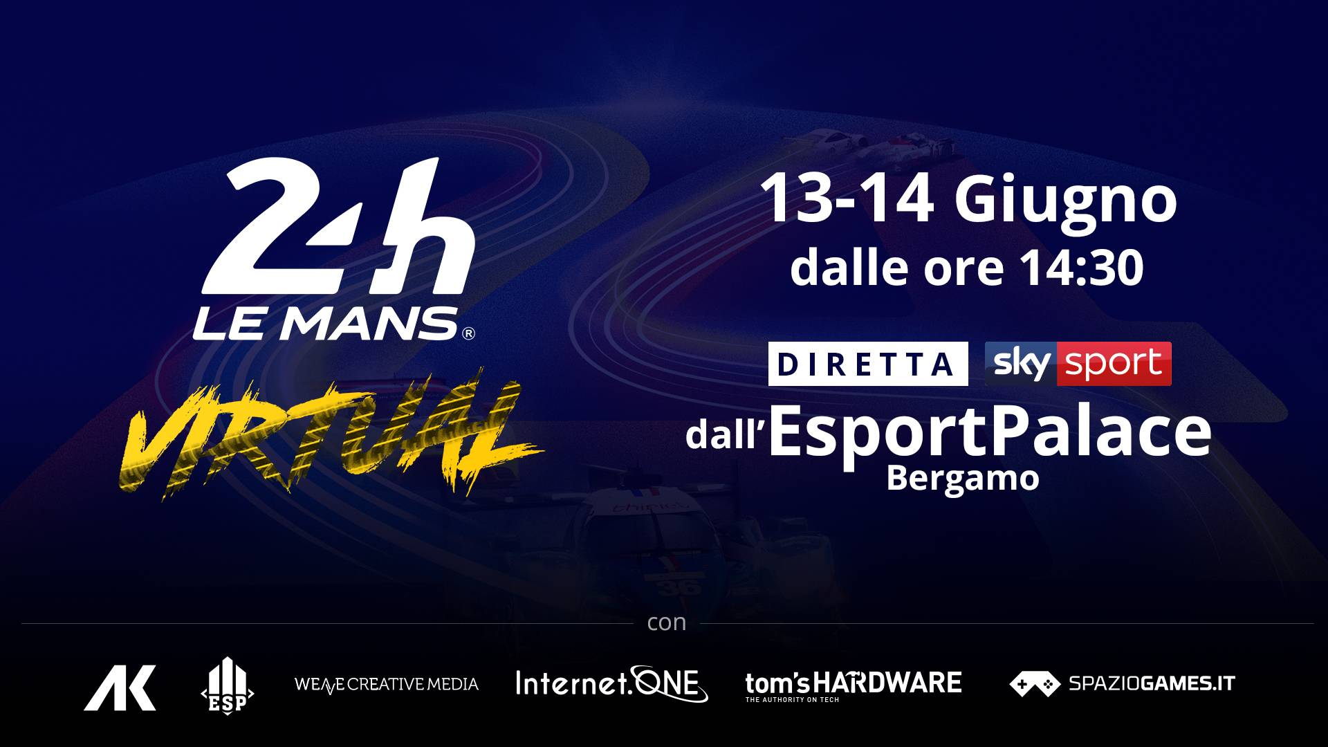 Virtual 24h di Le Mans giugno 2020