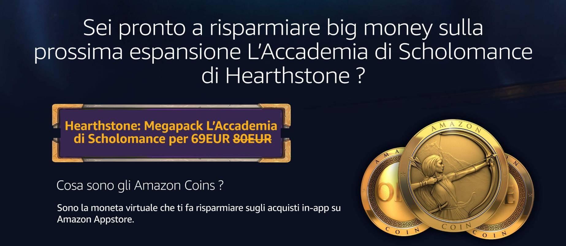 Amazon Coin Hearthstone