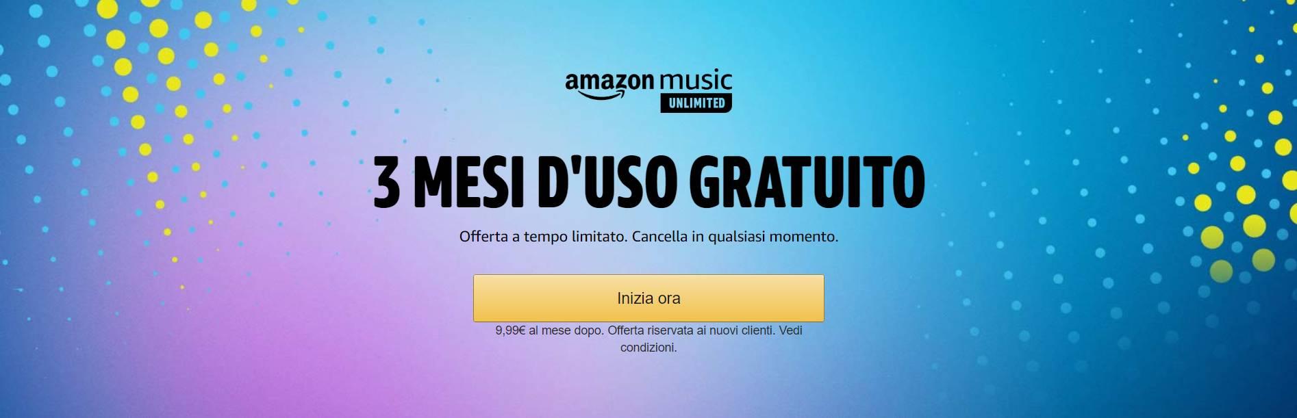 Amazon Music Unlimited - luglio 2020