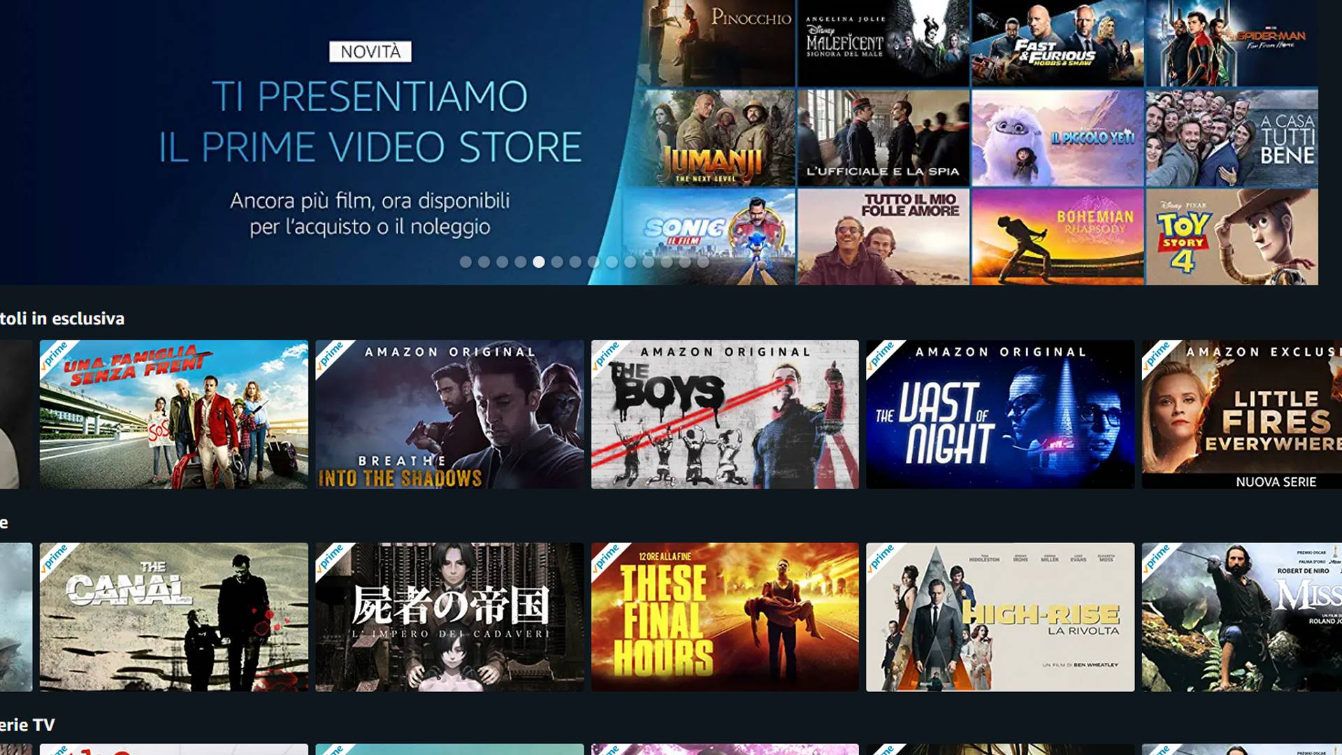 Amazon Prime Video agosto