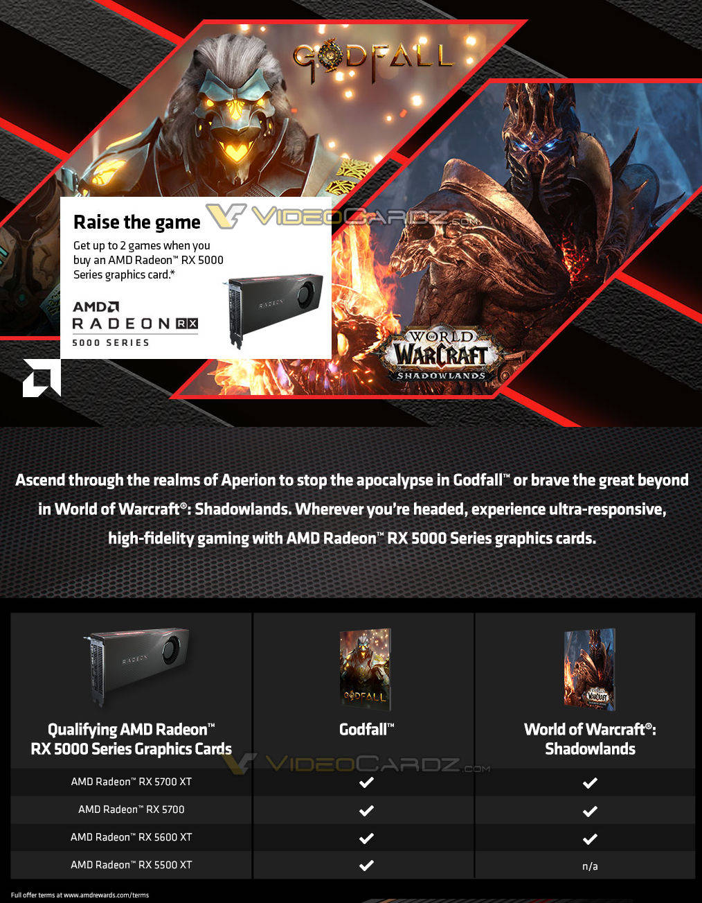 AMD Radeon RX 5000 Bundle