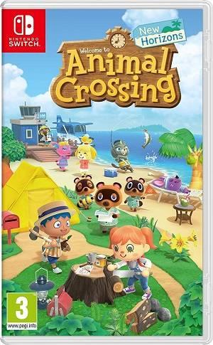 Animal Crossing New Horizons cover piccola