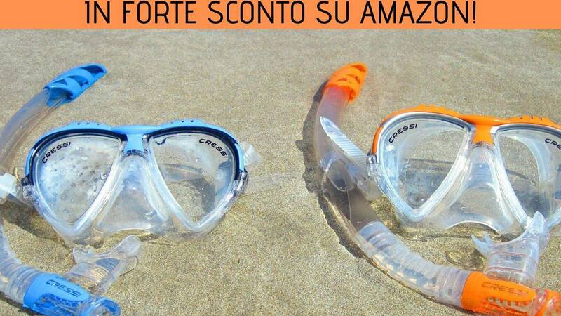 Cressi Watersports items in strong discount on Amazon!