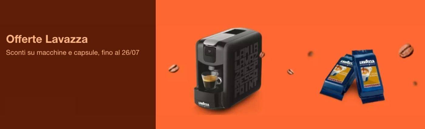 Banner promo caffè lavazza eBay