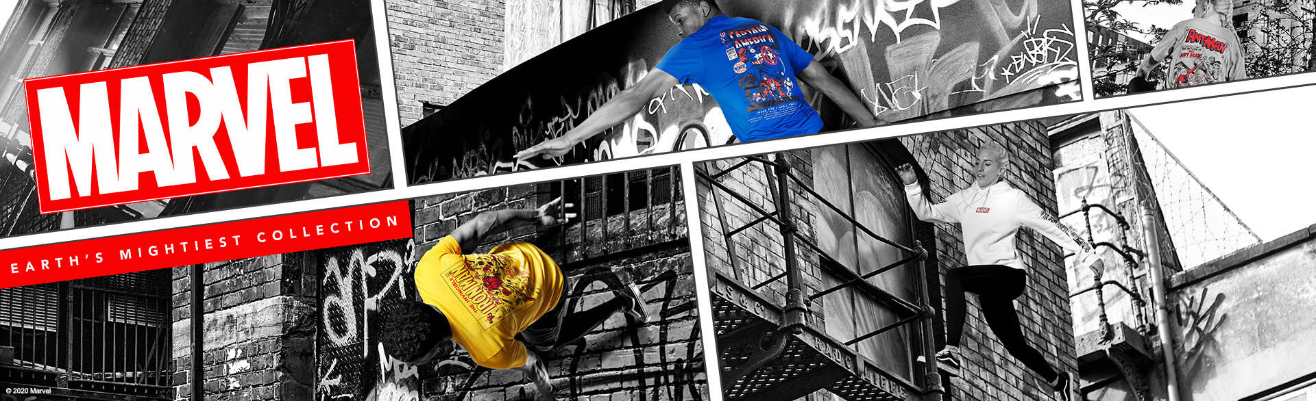 banner promozione zavvi t-shirt marvel