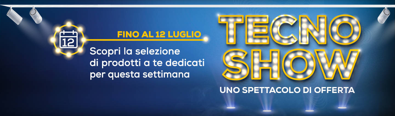 banner tecno show euronics