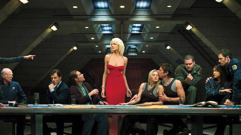 Battlestar Galactica (2004): Ronald D. Moore rewrites science fiction