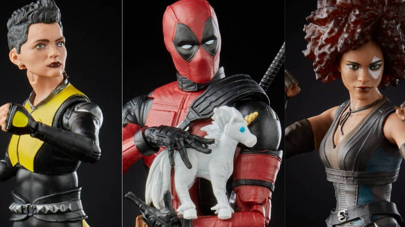 Deadpool 2: Hasbro presents the action figures from the film
