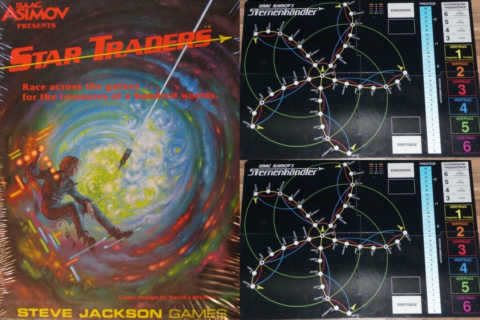 Isaac Asimov Presents Star Traders