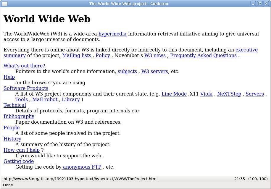 La nascita del World Wide Web