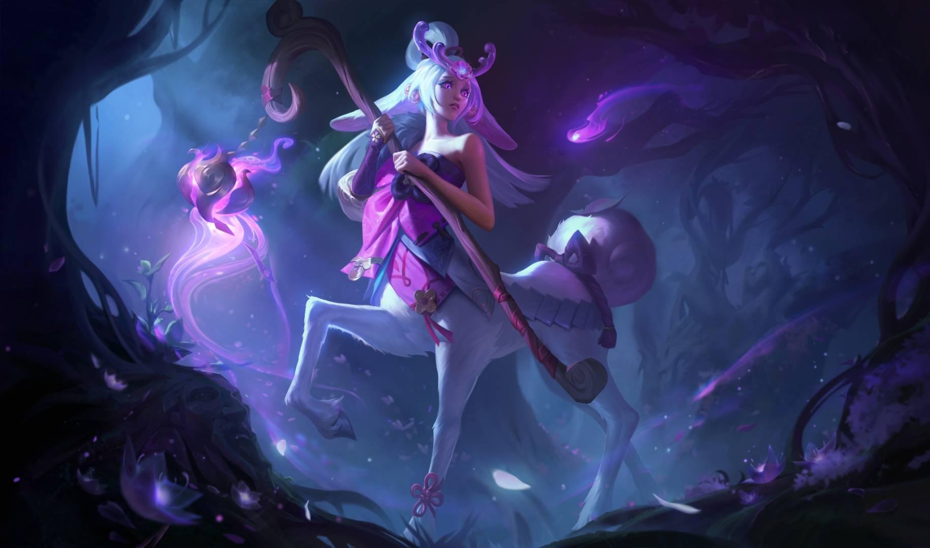 League of Legends Lillia