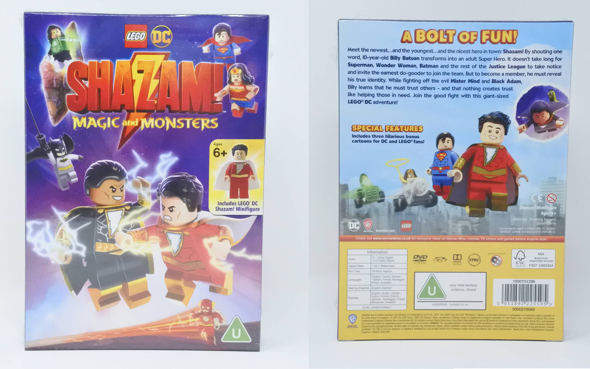 LEGO DC Shazam - Magic and Monsters DVD