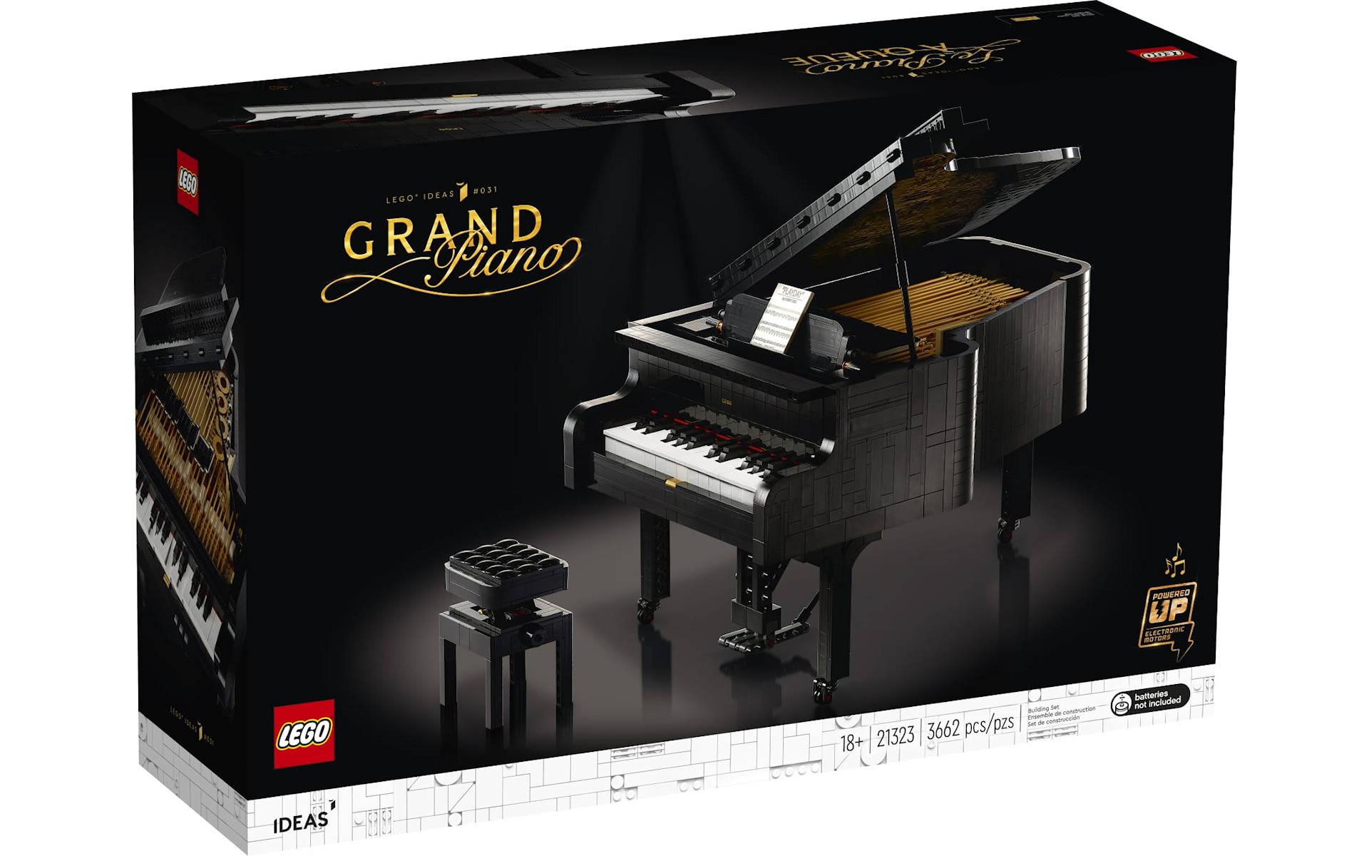 LEGOIdeas Grand Piano