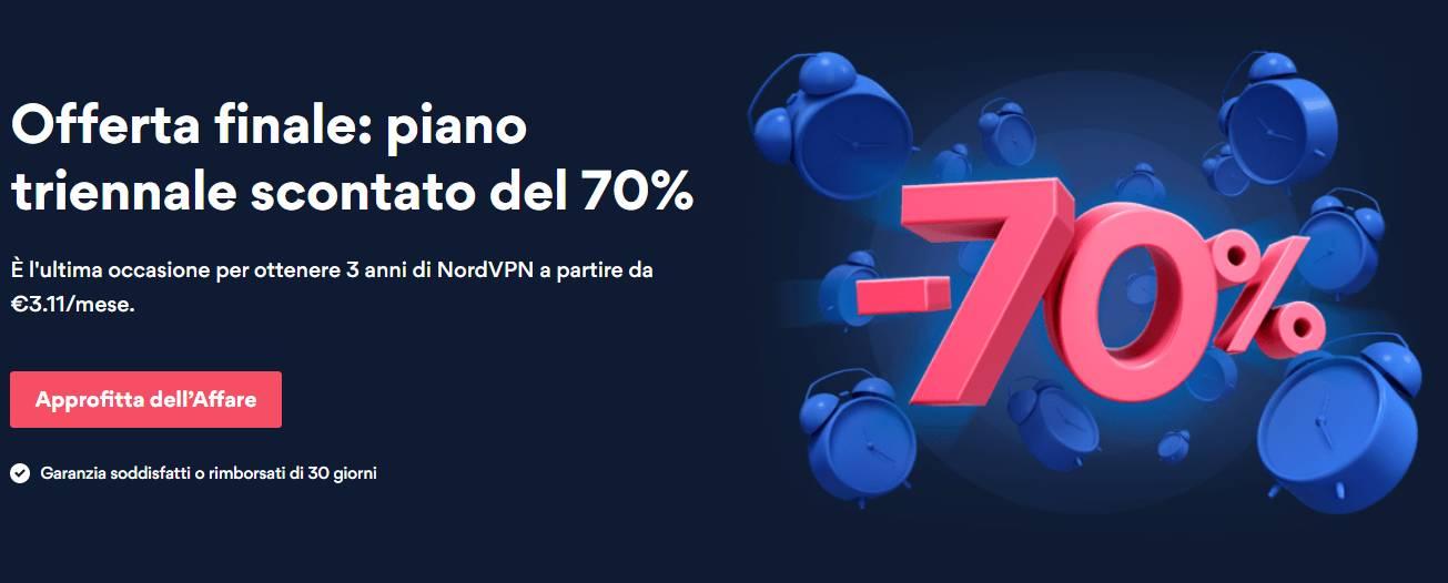 NordVPN -70%