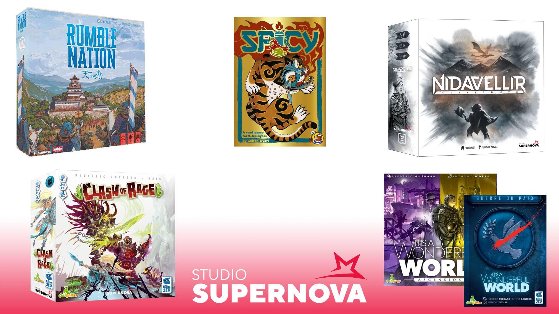 novità di Studio Supernova