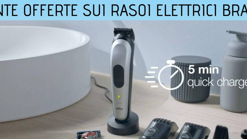 Amazon: the offers on Braun razors for him and her are back
