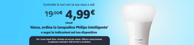 Philips HUE - 4 euro Amazon