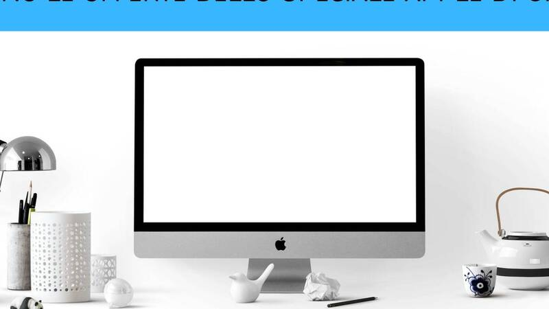 The offers of the Unieuro Apple Special are starting