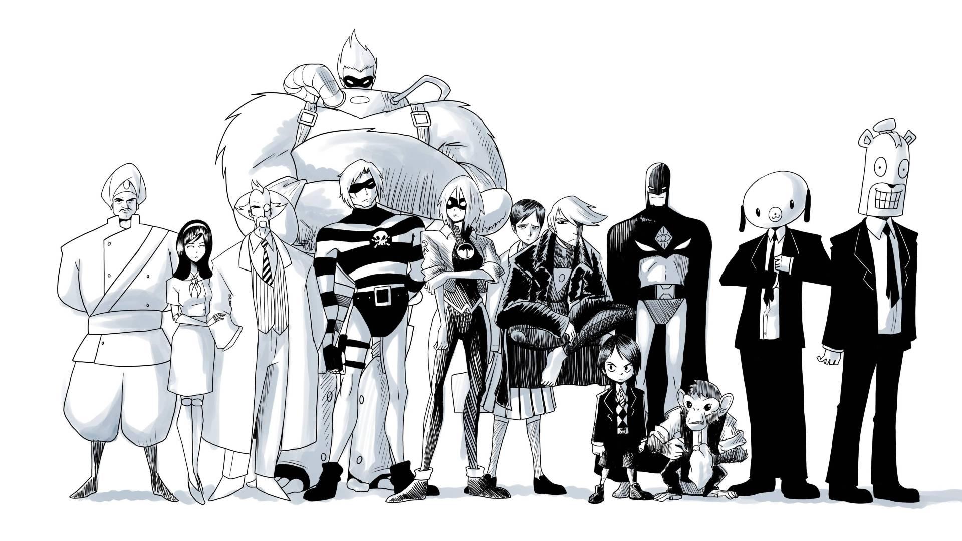 The Umbrella Academy Comic