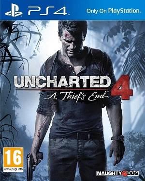 Uncharted 4 La fine di un ladro cover piccola