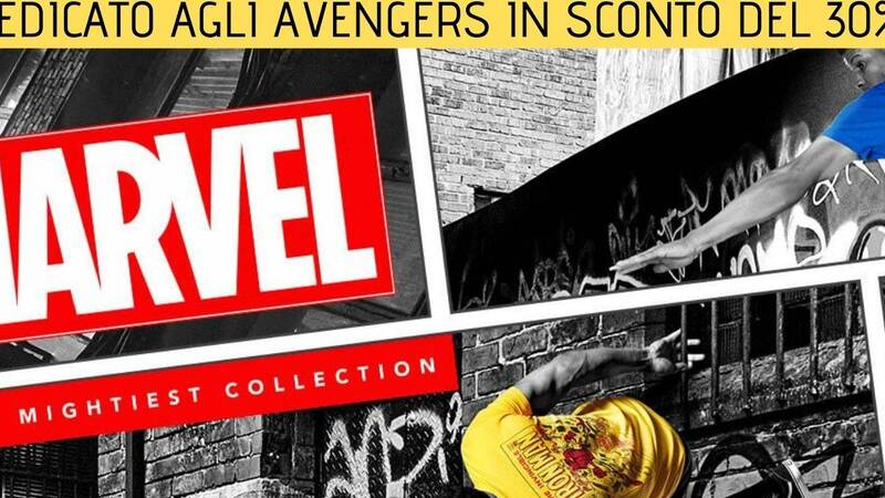 Zavvi: Marvel clothing dedicated to the Avengers at a 30% discount!