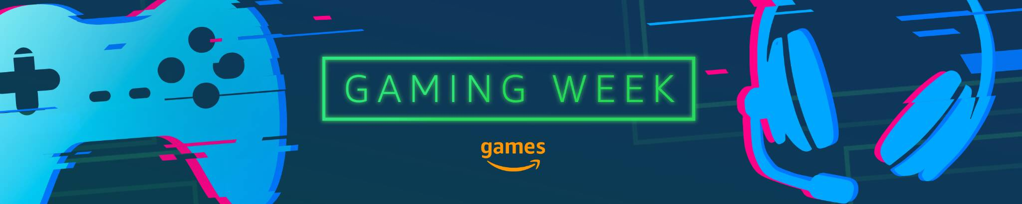 Banner Amazon Gaming Week