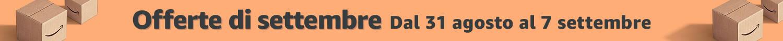 Banner Amazon - offerte settembre