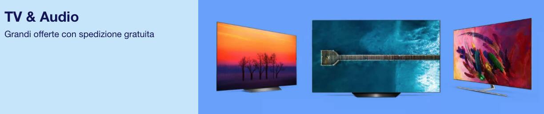 banner ebay promozioni audio e video