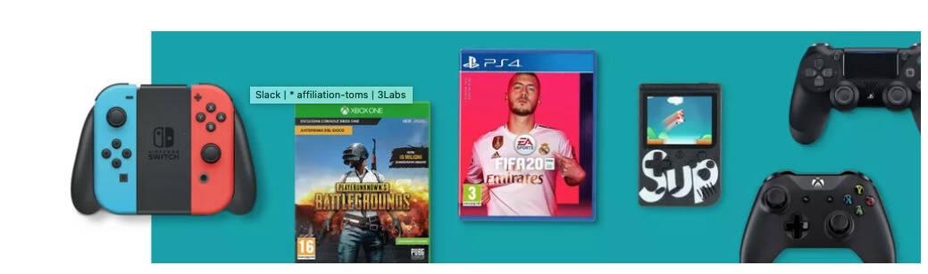 banner videogiochi ebay