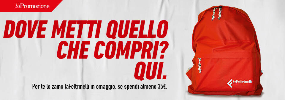 banner zaino feltrinelli