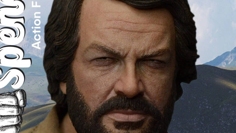 Bud Spencer, the 1/6 scale action figure is coming