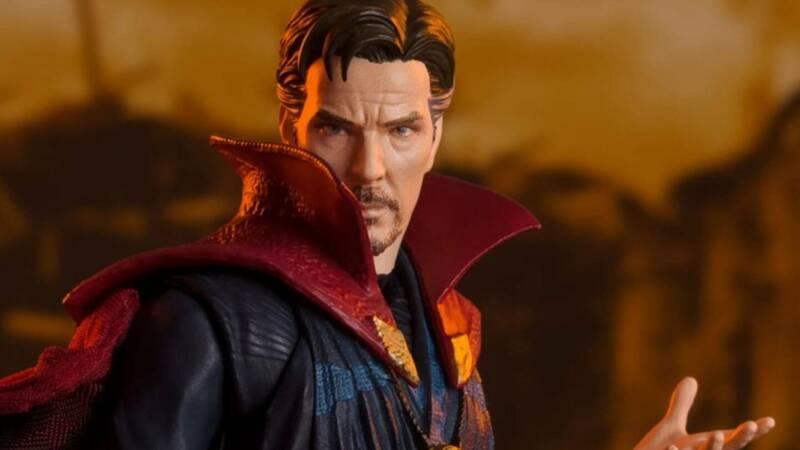 Doctor Strange BATTLE ON TITAN EDITION (Avengers / Infinity War) from Tamashii Nations