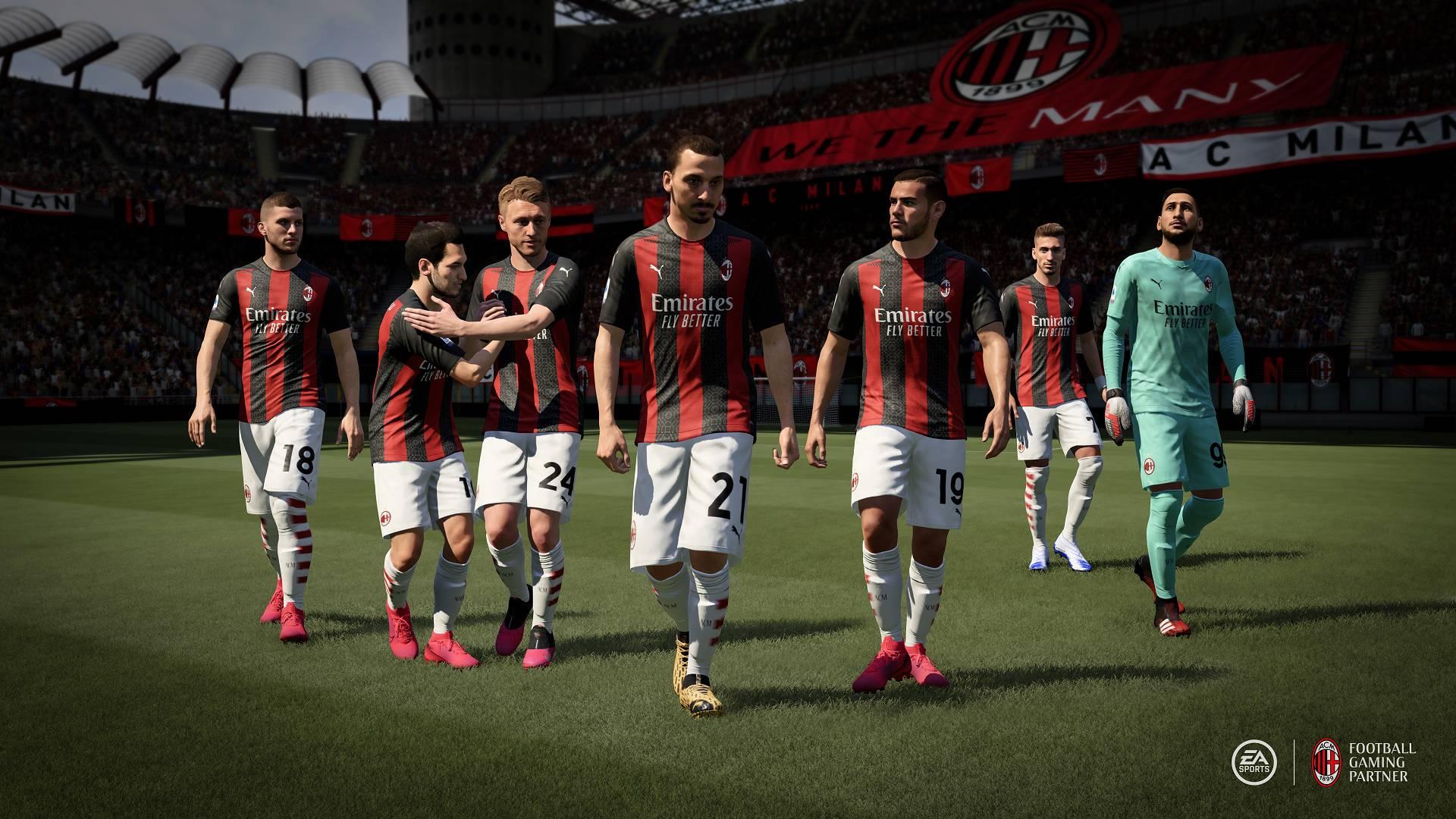 Fifa 21, Inter e Milan presenti in esclusiva: l'annuncio di EA Sports