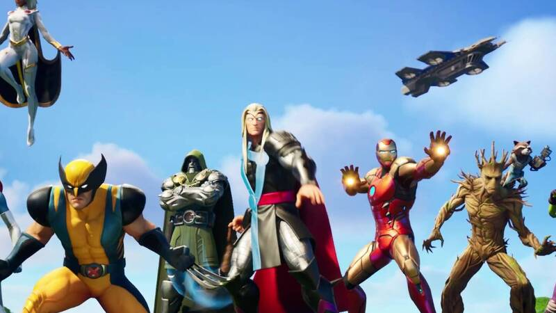 Fortnite: new skins of the Marvel heroes are coming, here are what