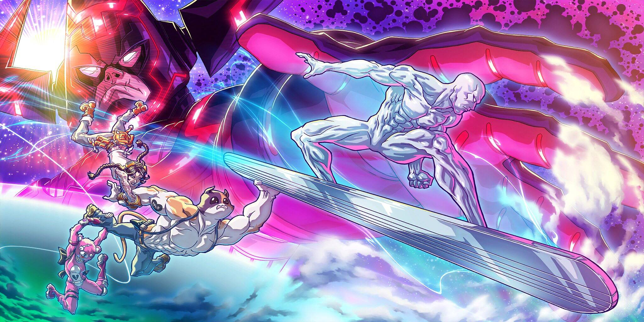 Fortnite Stagione 4 Silver Surfer