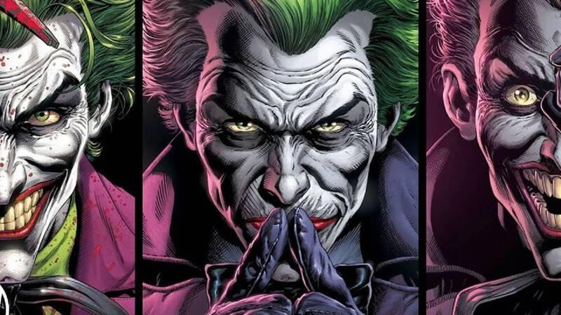 Three Joker - the launch trailer for the awaited miniseries