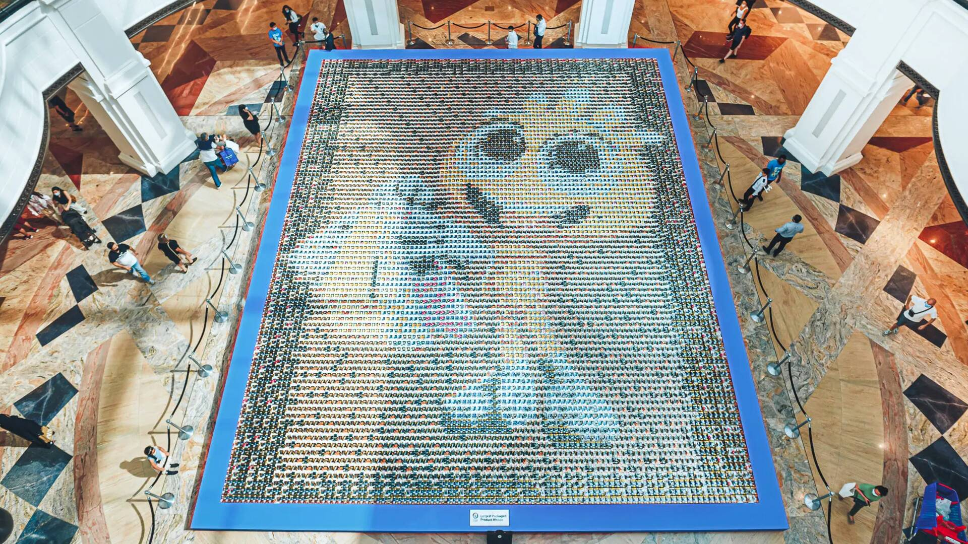 Funko mosaico più grande del mondo