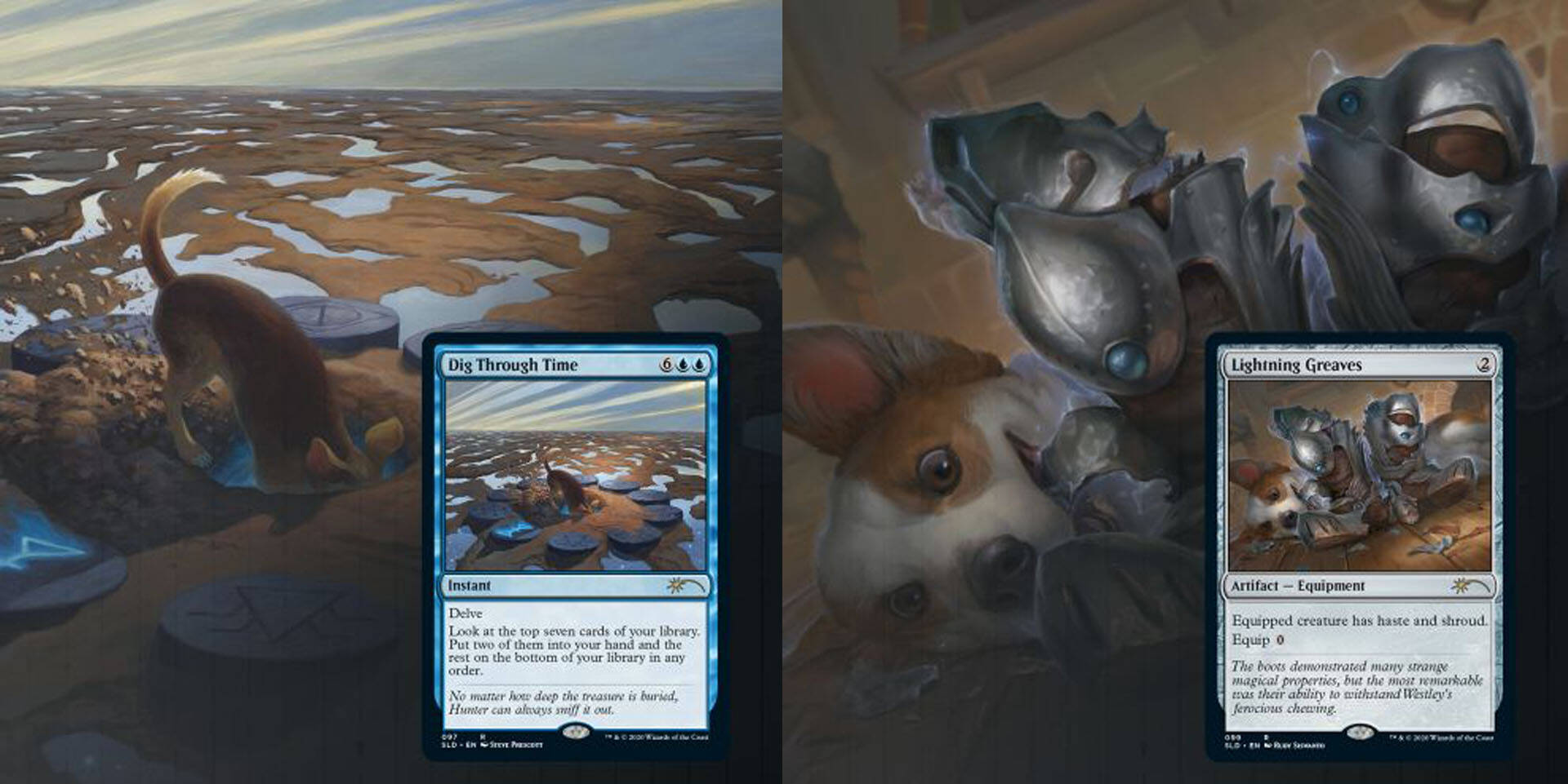 Magic The Gathering Secret Lair Cani