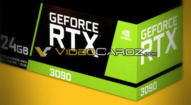 Nvidia Ampere RTX 3090 Leak