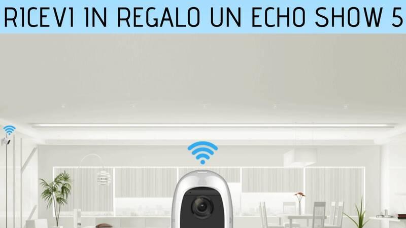 Buy an Ezviz camera kit, get an Amazon Echo Show 5 as a gift!