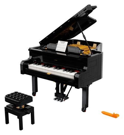 Pianoforte a corda lego ideas