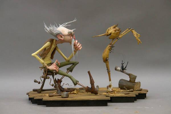 Pinocchio di Guillermo Del Toro