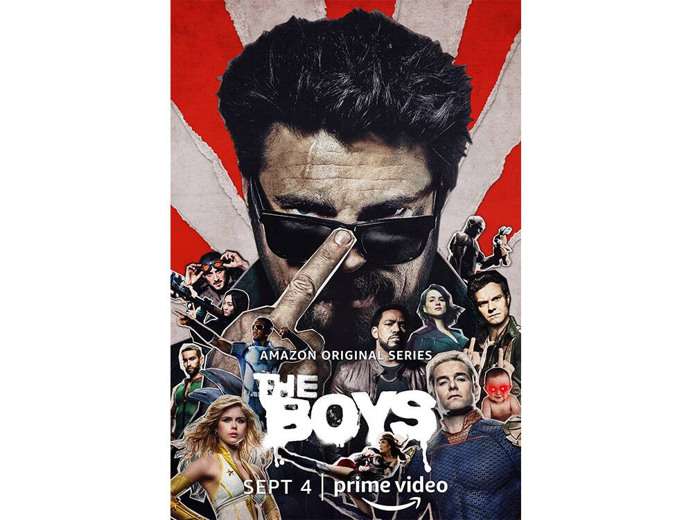 primi tre episodi di the boys 2