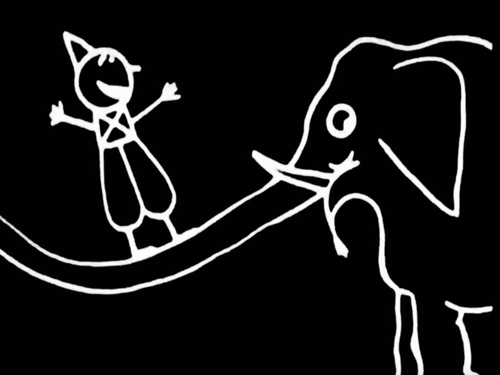 Proiezione primo cartone animato della storia