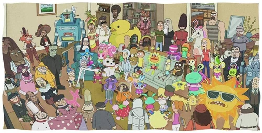 Rick & Morty telo amre