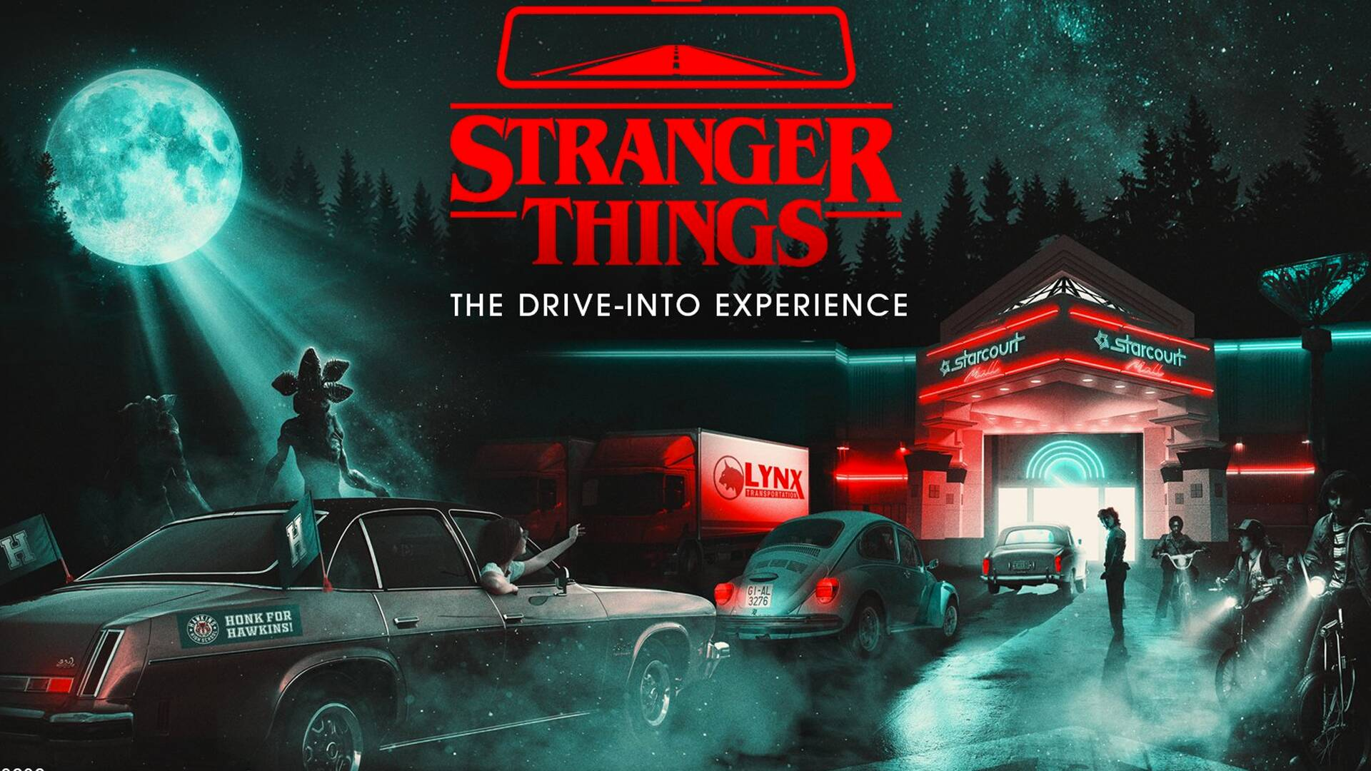 Stranger Things - The drive-into experience